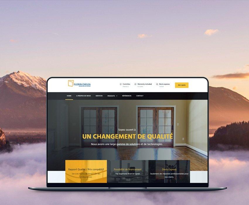 Menuiserie – Web Development