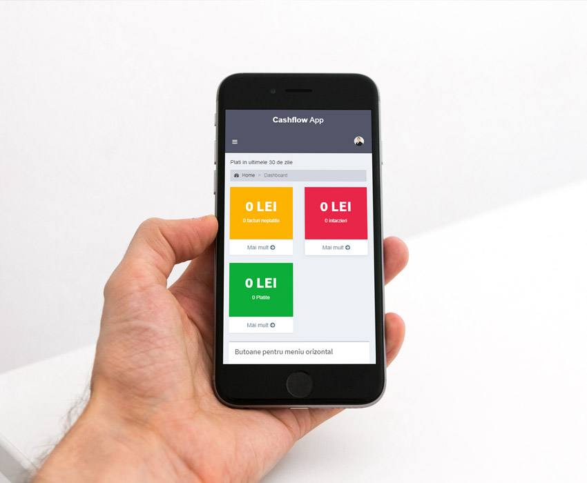 Cashflow App – Design