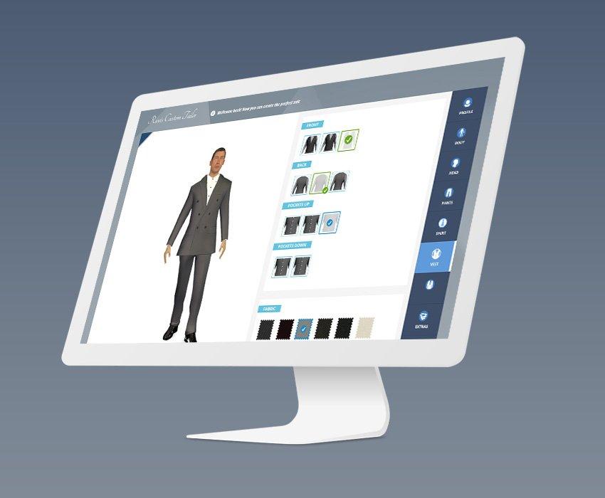 Suit Customizer App