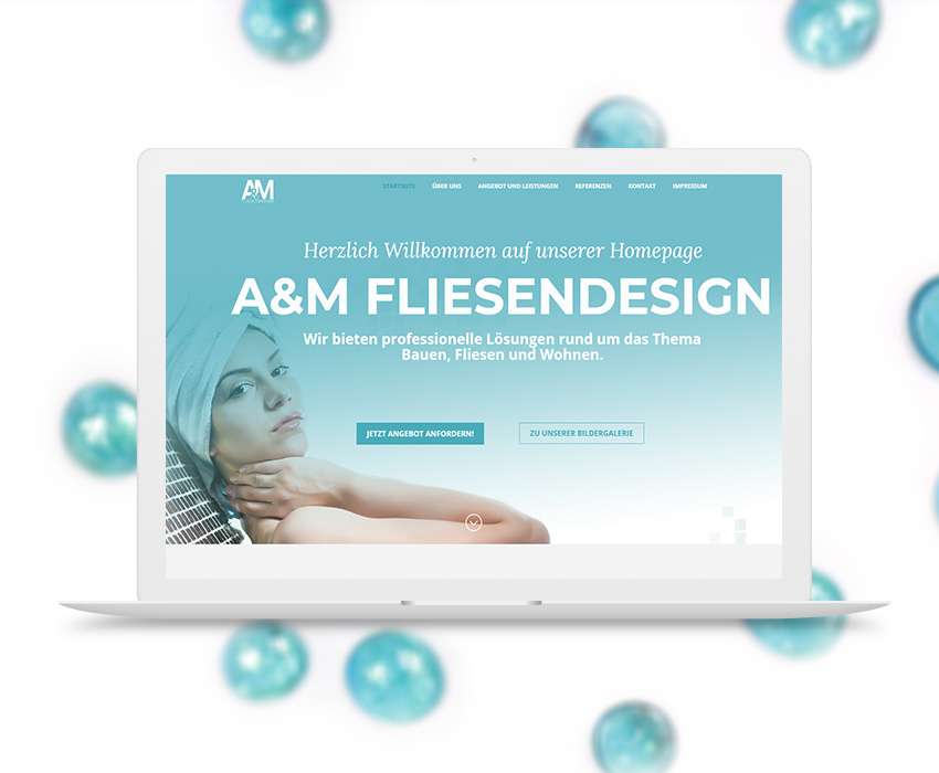 AM-Fliesendesign – Web Development in Timisoara