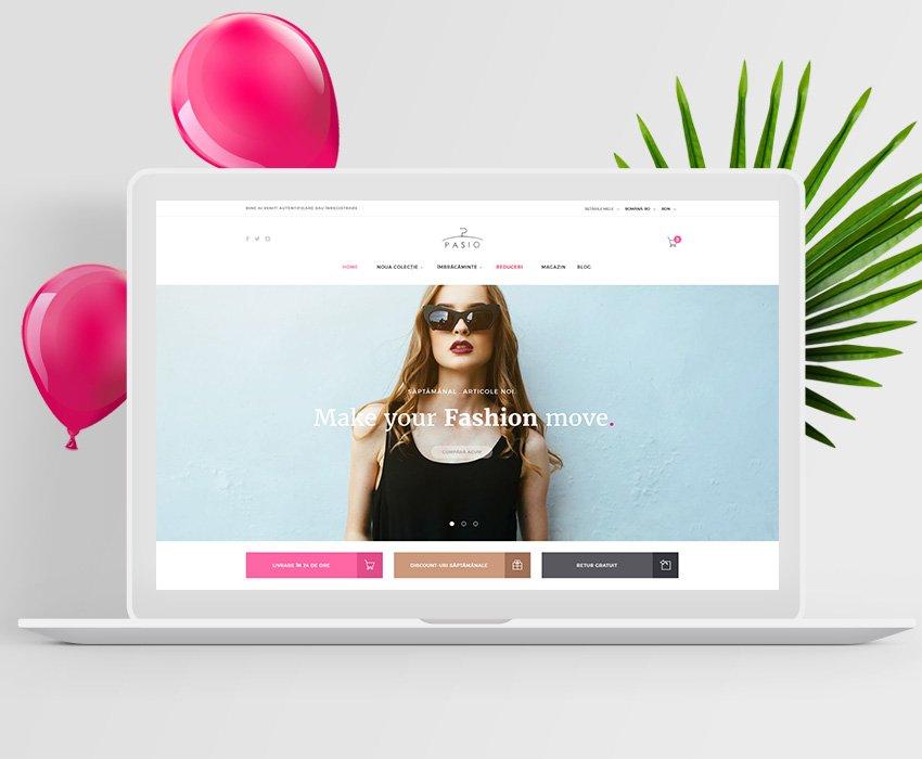 Pasio – Web Development