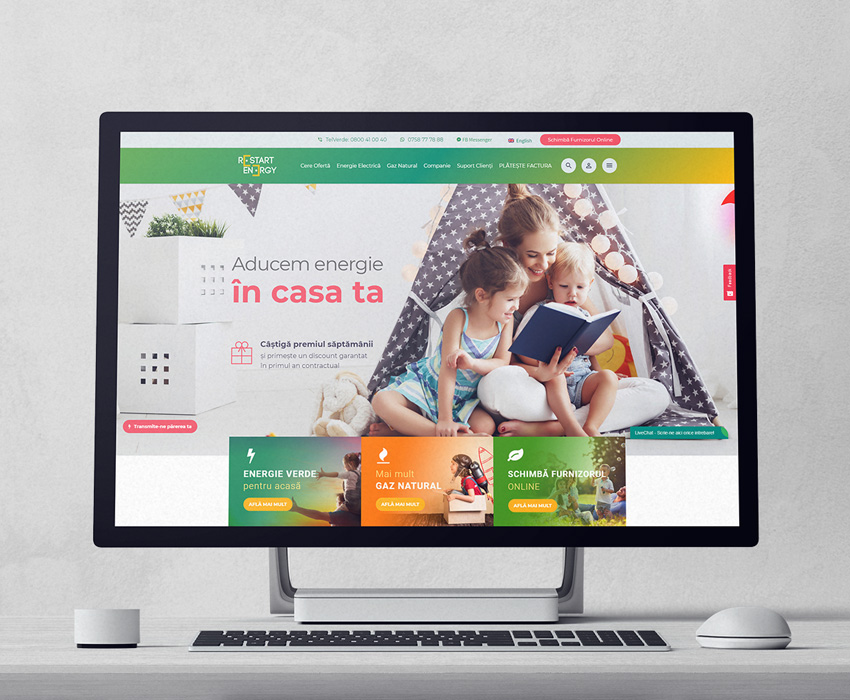 Restart Energy – Web Development