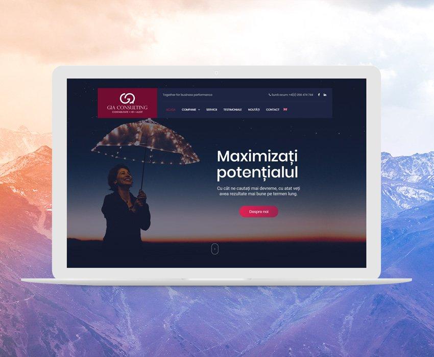 Gia-Consulting – Web Development in Timisoara