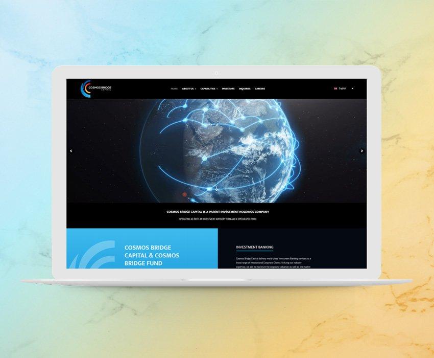 Cosmos Bridge Capital – Web Development in Timisoara